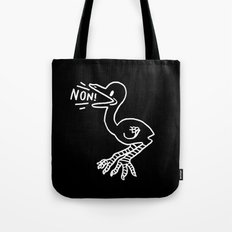 NON! [IN BLACK] Tote Bag
