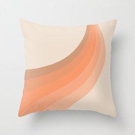 Soleil Swirl Throw Pillow