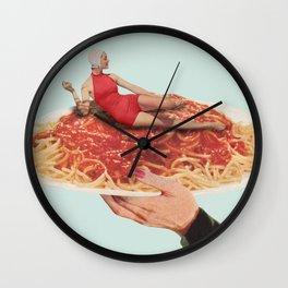 Saucy Wall Clock
