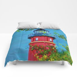 Lighthouse Madness Comforters