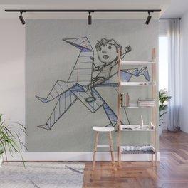 Doodle Boy Wall Mural