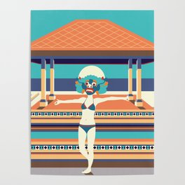 moroccan night Poster