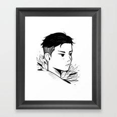 Otabek Framed Art Print