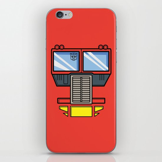 Transformers - Optimus Prime iPhone & iPod Skin