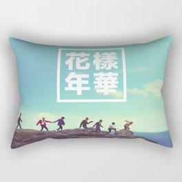 BTS + RUN Rectangular Pillow