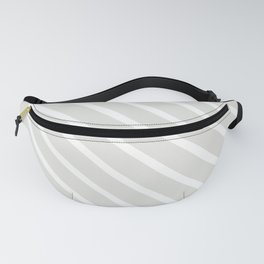 Ice Diagonal Stripes Fanny Pack