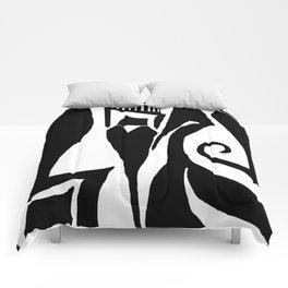90 Abstract Print Artwork Comforters