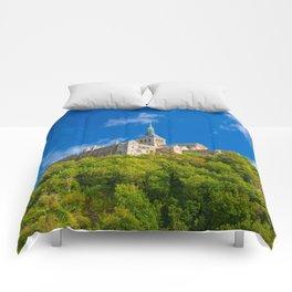 Mont Saint-Michel Abbey Comforters
