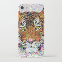 tiger iPhone & iPod Cases featuring Tiger by David Zydd