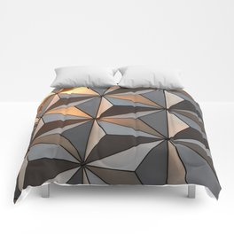 Triangle pattern 3d Comforters