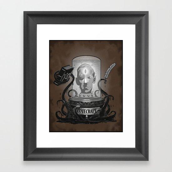 Accursed Inspiration Framed Art Print