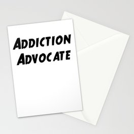 Addiction Advocate Stationery Cards