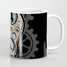 Steampunk Plague Medieval Doctor Bulb Coffee Mug