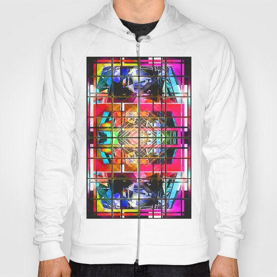 3-D-GEOMETRY AND COLOR. Hoody