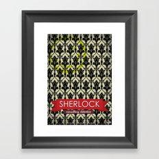 Sherlock Poster 1 Framed Art Print