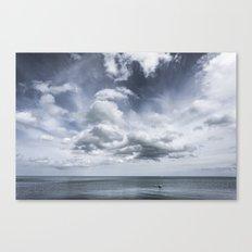 Sky and Ocean Canvas Print