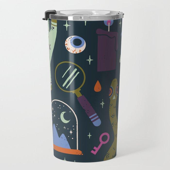 Curiosities Travel Mug