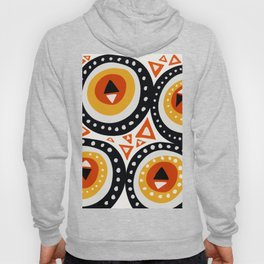 African Abstract Art Pattern Hoody