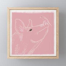..But we're The Best of Friends Framed Mini Art Print