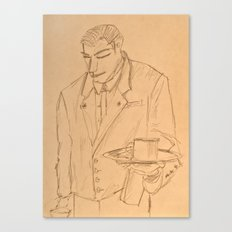 The Waiter Canvas Print