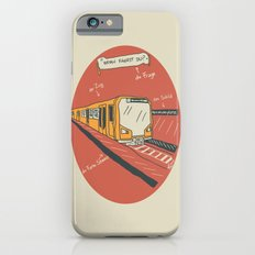 U-BAHN  iPhone 6s Slim Case