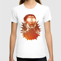 gold T-shirts featuring FIREEE! by Dr. Lukas Brezak