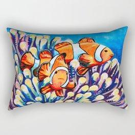Clown Fish Rectangular Pillow