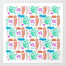 pattern I Art Print