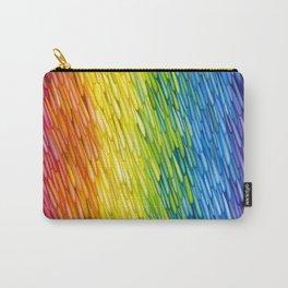 Rainbow Rain Carry-All Pouch