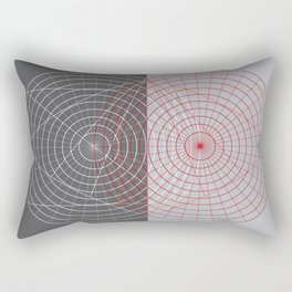Confused lines Rectangular Pillow