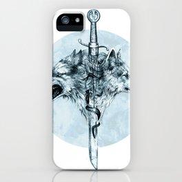 Dire Wolf iPhone Case
