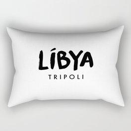 Tripoli x Libya Rectangular Pillow