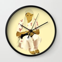 Strong Asian Mothers Wall Clock