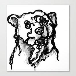 A bear Canvas Print
