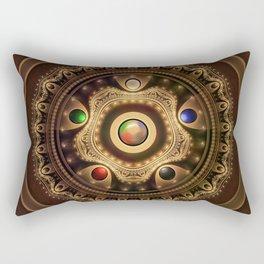 Gathering the Five Fractal Colors of Magic Rectangular Pillow