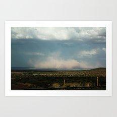 Dust Storm Art Print