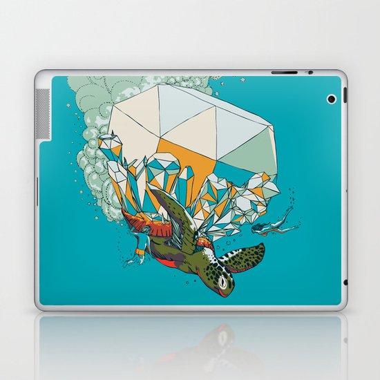 TURTLE& THE DIAMONDS Laptop & iPad Skin