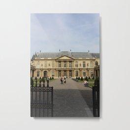 Archives nationales, Paris, France Metal Print