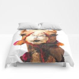 Camel Portrait Comforters