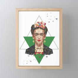Frida Framed Mini Art Print