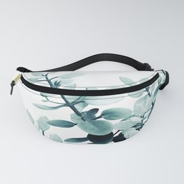 Eucalyptus Leaves Green Vibes #2 #foliage #decor #art #society6 Fanny Pack