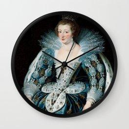 Royal Portrait Queen Anna Wall Clock