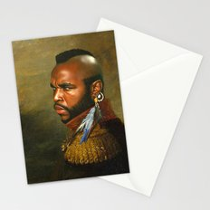 Mr. T - replaceface Stationery Cards