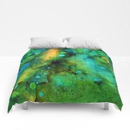 Green Smoke Comforters