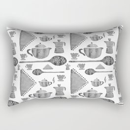 VINTAGE KITCHEN UTENSILS Rectangular Pillow