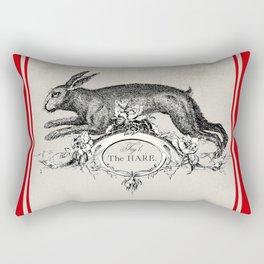 The Hare Rectangular Pillow