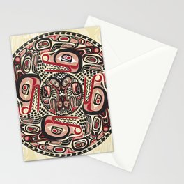 Creation Story - Four Wolves Stationery Cards