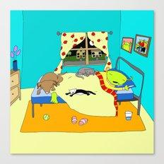 Sleepy Times Canvas Print