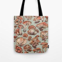 A Series of Mushrooms Tote Bag