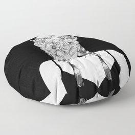 Fake Happiness Floor Pillow